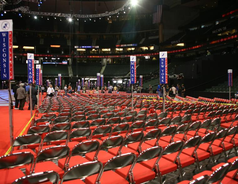 Photo by Flickr user PBS NewsHour of Republican convention