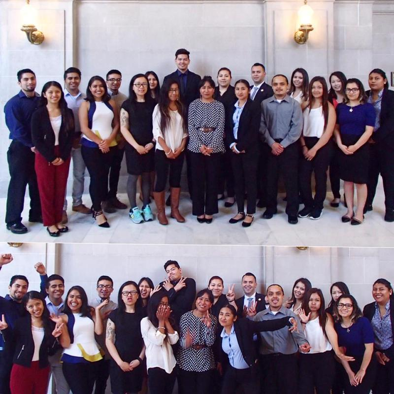 San Francisco Office of Civic Engagement and Immigrant Affairs 2016 Fellows