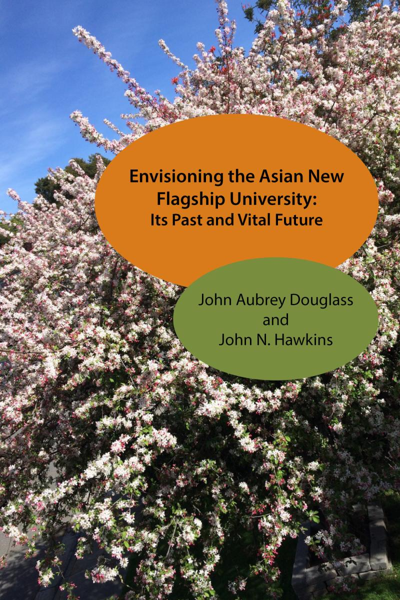 book cover : envisioning the asian new flagship university