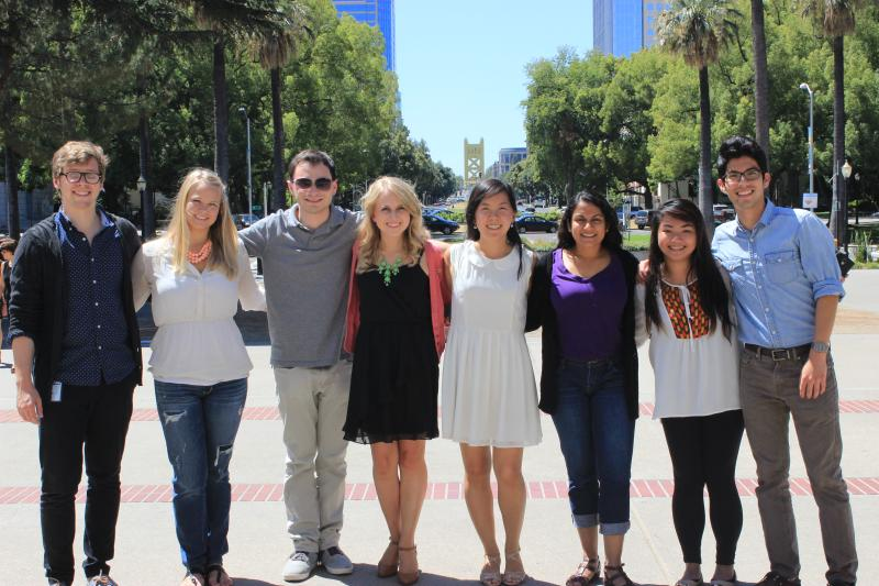 group of Cal-in-Sac fellows