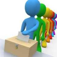 voters at ballot box