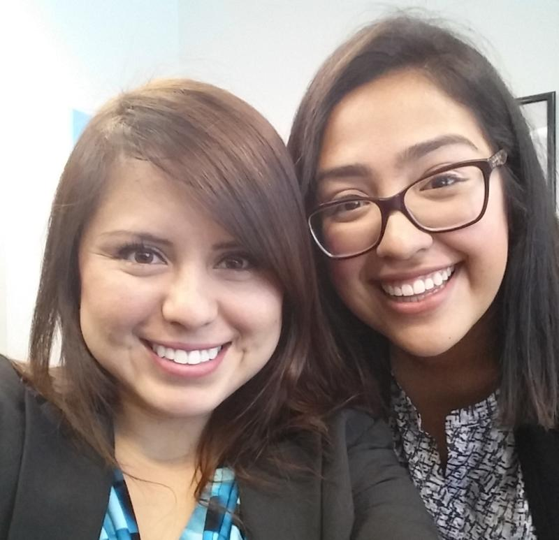Paralegal and Investigative Unit interns on our first week at the office. Luz is my roomie and my partner in crime! Its been a blessing sharing this experience with her and the other members of my Cal-in-Sacramento cohort.
