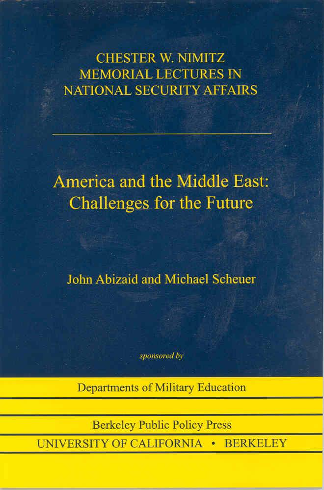 America And The Middle East Challenges For The Future Institute