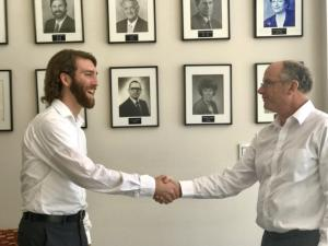 Daniel Fields with Brisbane City Manager