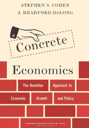 book cover - Concrete Economics