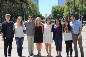 group of Cal in Sac fellows