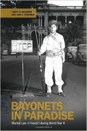Bayonets in Paradise book cover