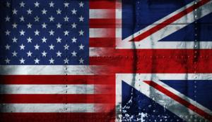 US-UK flag image