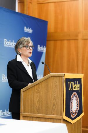 Senator Barbara Boxer speaking at Bancroft