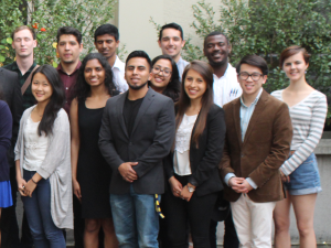 group shot of Cal in Sac fellows