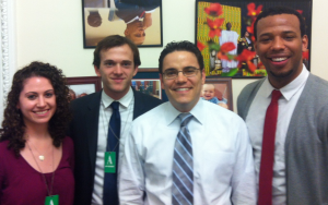 Gardner Fellows in Grant Harris's office