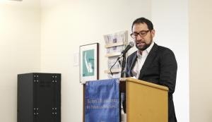 Rick Perlstein reading at IGS Library