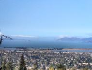 The view from there (the SF Bay)