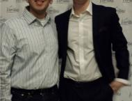 Me and James O'Keefe, the man who started Project Veritas