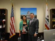 Me with ​Assemblymember Rudy Salas (District 32) #TeamSalas