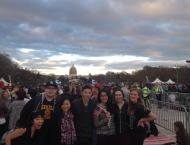 Enjoying the Concert for Valor with the Capitol in the background