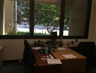 My office space shared with supervisor Dan Bellino