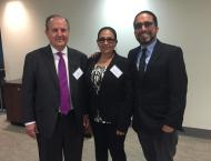 Left to Right: Juan Mendez, Dolores Canales and Danny Murillo