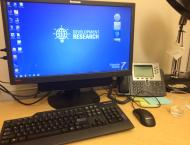 My desk at the World Bank