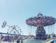 Ate fried oreos for the first time at the California State Fair!