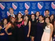 LULAC interns with actress Angelica Vale from the original Ugly Betty!