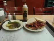 Katz's Delicatessen where Harry met Sally, and I just came for the pastrami sandwhich!