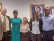 Last day at the Department of Education with the fellow interns and Scott Groginsky (Director of Appropriations and Budget