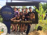 Me with other Cal-in-Sac Fellows at the State Fair.