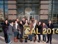 Group photo of some of the UCDC Berkeley participants. I'm holding the Cal banner!