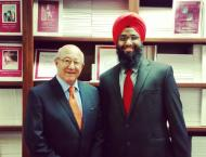 Picture with Pedro Nava, Chairman of Little Hoover Commission